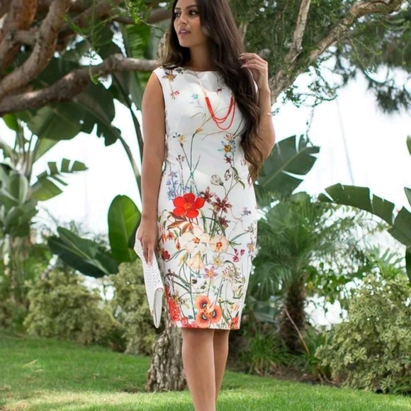 Zara Dresses & Skirts - Zara NWT Floral printed classy tube dress